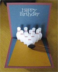 bowling card - from the site, cornerstonelae.blogspot.com