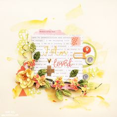 layout by Tusia Lech for Words&Paintery DT with 7 Dots Studio collections