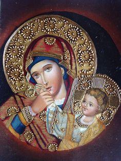 https://www.facebook.com/MAYTAYARTE.                                 Virgen Czestochowa.                           Obra en óleo (alto grado de pigmentación)                                     Venta:  almuarce2002@gmail.com
