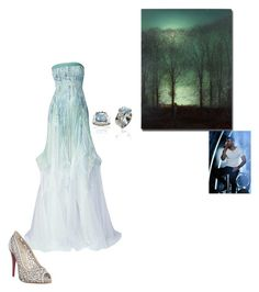 """""""Moonlit Serenade"""" by snazzydiva2002 on Polyvore featuring art"""