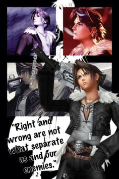 Final Fantasy Wallpapers~ Squall by Emeraldfire131 on deviantART