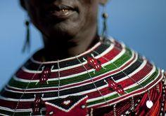 El Molo huts are found at Lake Turkana in the northern part of Kenya. Zulu Women, African Women, Kenyan Artists, Kenya Nairobi, Ancient Egyptian Jewelry, African Accessories, Eric Lafforgue, Ankara Skirt, Tribal Fashion