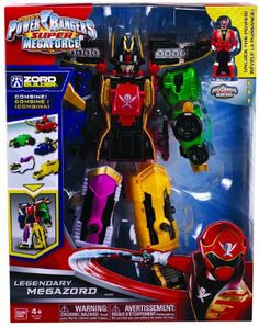 Amazon.com: Power Rangers Super Megaforce Legendary Megazord: Toys & Games