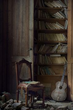 abandoned manor G library and music ( explore ) by andre govia