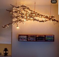 Find out why home decor is always essential! Discover more living room lighting Weihnachtsdeko Decorating Your Home, Diy Home Decor, Decorating With Branches, Room Decor For Teen Girls, Deco Table Noel, Outdoor Light Fixtures, Farmhouse Lighting, Living Room Lighting, Room Lights