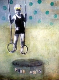 Susan McCarrell A Fine Mess x mixed media on panel Fantastic Art, Mixed Media Collage, Art Journaling, Figurative, Painting & Drawing, Photo Art, Sketch, Scrapbooking, Inspiration