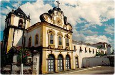 Igreja de Nossa Sra. dos Anjos e Convento São Francisco, na histórica cidade de Penedo, Alagoas (foto José Aguilera).