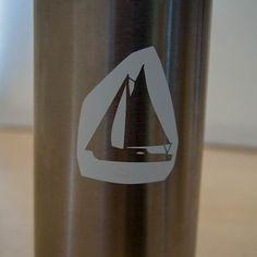 Diseño para ser grabado en la botella