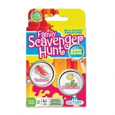 Family Scavenger Hunt cards for the whole family, including photos for non-readers.  from For Small Hands  Affiliate Disclosure:  We may get a commission if this link leads to a purchase. We only recommend products & systems that we use and love and want to pass the info on to you.  Thanks!