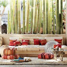 Wohnideen Orientalisch orientalische wohnideen bodenkissen sitzkissen kamin zierornamente