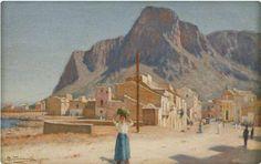 Veduta di Sferracavallo (Palermo) Onofrio Tomaselli (1866 - 1956)