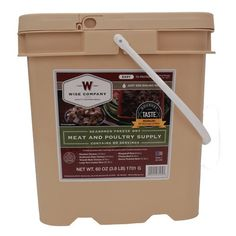 Survival Kits 60 Serving Wise Meat Bucket *** Learn more by visiting the image link. (Amazon affiliate link)