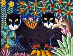 alegría y color: EL COLORIDO DE GABRIEL ALIX (Haití 1930-1998)