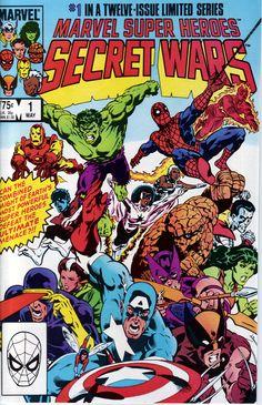 Secret Wars #1 - Marvel 1984 Favorite Comic Of All Time.