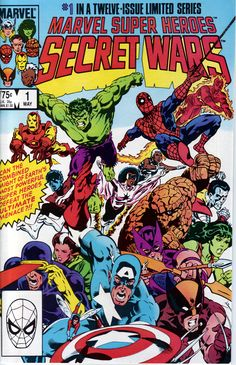 Secret Wars #1 - Marvel 1984 Favorite Comic Of All Time.