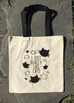 This tote bag: | 39 Products That Will Help You Embrace Your Inner Cat Lady In 2016