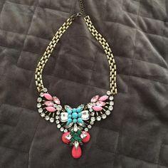Statement necklace Beautiful multi stone statement necklace Jewelry Necklaces