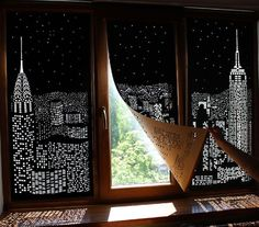 Shadow Art Window Blinds