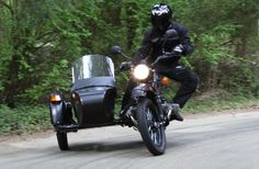 Ural T sidecar motorcycle, 40hp Boxer twin engine.