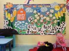 Down on the Farm classroom display photo - SparkleBox