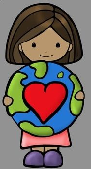 Earth Day Clip Art by Whimsy Workshop Teaching Earth Day Clip Art, Earth Day Images, Classroom Clipart, Auction Baskets, Cute Clipart, Sunday School Crafts, Sketch Painting, Pebble Painting, Cricut Vinyl