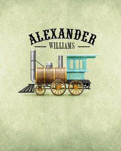 A's train room