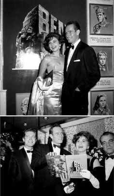 Ben Hur 1959 Stretched Movie Poster Canvas Wall Art Print Charlton Heston 50s