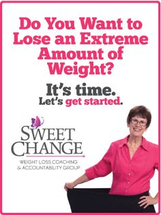 Sweet Change weight loss coaching and accountability group is not about a diet plan. It's about how to begin your healthy living lifestyle and step into a total transformation— body, soul and spirit.
