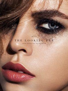 The Looking Eye Revs Magazine Makeup: Imane Fiocchi Photography: Anne Hojlund Nicolajsen Hair: Yasutaké Kosaka Model: Masha and Lexa