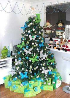 fotos e ideas para decorar el arbol de navidad 2012 2013 3