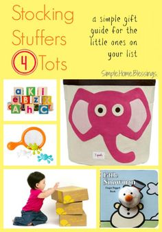 Stocking stuffers for tots, a gift guide from Simple.Home.Blessings. for #ad #CitrusLane AND A #GIVEAWAY!!