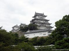 Japanese castles I've visited: #24 Himeji Castle in Hyogo Prefecture. I think that's the castle that I've visited the most! I've been there a million of times - and it's certainly one of my favorite castles! :D