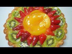 TARTA FRUTAL   MATIAS CHAVERO - YouTube Dessert Recipes, Desserts, Easy Meals, Make It Yourself, Breakfast, Sweet, Food, Youtube, Tailgate Desserts
