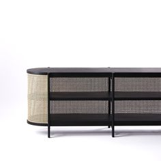 Cane Low Cabinet - 01 by Cane Collection. Cane Furniture, Sideboard Furniture, Rattan Furniture, Furniture Styles, Modern Furniture, Furniture Design, Unusual Furniture, Sustainable Furniture, Console Table