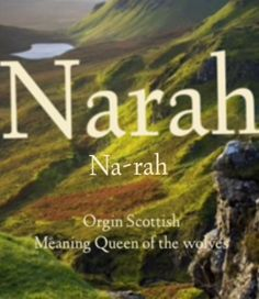 Scottish baby girl name!  #celticbabynames #celtic #scottishbabynames