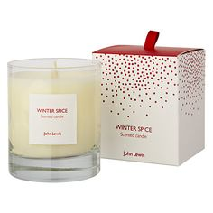 Buy John Lewis Winter Spice Boxed Candle Online at johnlewis.com