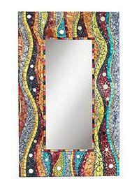 Mosaic Mirror - set your inner hippie free!  www.FramedArtExpert.com/gallery.html