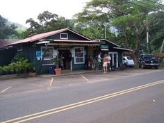 Red Hot Mama's - Hanalei, Kauai. (good mexican food stand, made with organic food/produce)