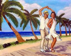 Salsa en la Playa Fine Art Giclee Photographic Print at Artist Rising. Artist Rising is the premier destination for discovering original art, fine art and photography prints, and limited edition art by living artists. Think Poster, Danse Salsa, Havana Nights Party, Puerto Rico History, Shall We Dance, Salsa Dancing, Dance Art, Love Art, Framed Art