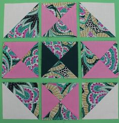 No-Hassle Triangle Quilt Blocks on Sewing With Nancy   PBS   Nancy Zieman   How to sew Quarter-Square and Half-Square Triangles for Quilters and Quilt Blocks