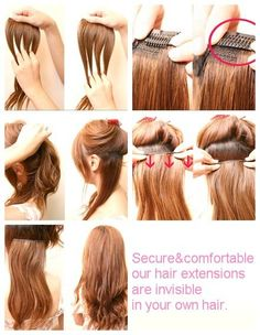 Grey white clip in human hair extensions buy grey white clip in how do you clip in hair extensions these illustrations are easy to follow and sobe pmusecretfo Choice Image
