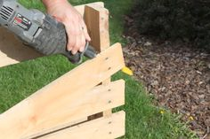 How to cut a pallet