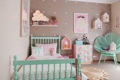 Dětský pokoj v pastelových barvách