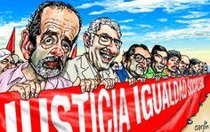 Carlincaturas 07-05-2013 Ahora desde el lugar que estén juntos van a seguir haciendo su lucha por la justicia social!!!