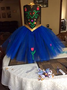 Princess Anna Tutu $30 come check my page on Facebook- Little Dreamers Boutique!!!!