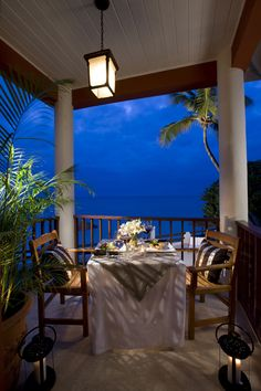 Great place to have a romantic evening at Sandals Grande Antigua Resort