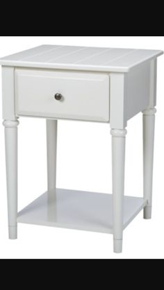 Night stand with cute wooden panels