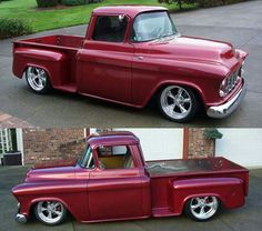 1955 Chevy truck. Maintenance/restoration of old/vintage vehicles: the material for new cogs/casters/gears/pads could be cast polyamide which I (Cast polyamide) can produce. My contact: tatjana.alic@windowslive.com