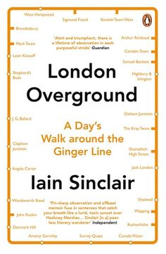 "Read ""London Overground A Day's Walk Around the Ginger Line"" by Iain Sinclair available from Rakuten Kobo. Iain Sinclair explores modern London through a day's hike around the London Overground route. London Overground, Company Dinner, Farm Pictures, Samuel Beckett, Camden Town, London History, Thing 1, People Names"
