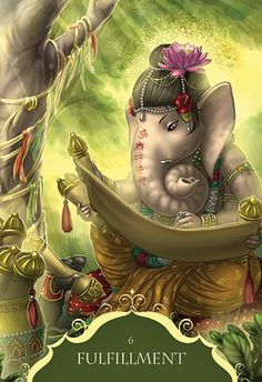 Shri Ganesh! Blue Angel Publishing - Whispers of Lord Ganesha - Angela Hartfield - Artwork by Ekaterina Golovanova